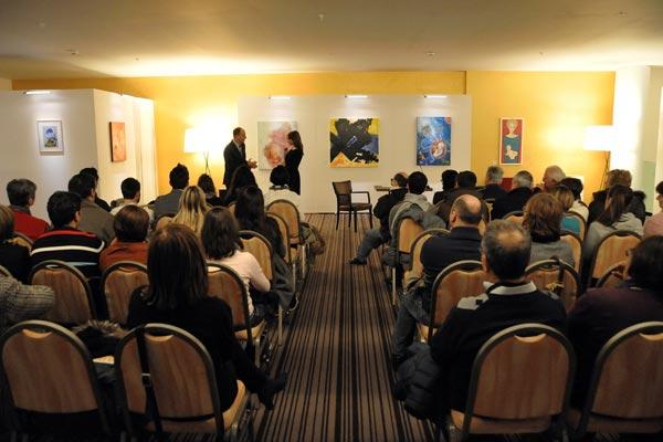 Esposizione Dialoga Arte Sheraton Malpensa Milano
