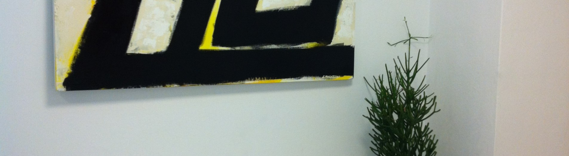 Doppio Scenario, 120 x 90 cm, pitture industriali su tela, 2013