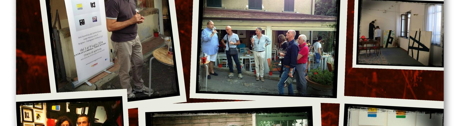 Rappresentazione e Narrazione, Bolgheri, luglio 2014