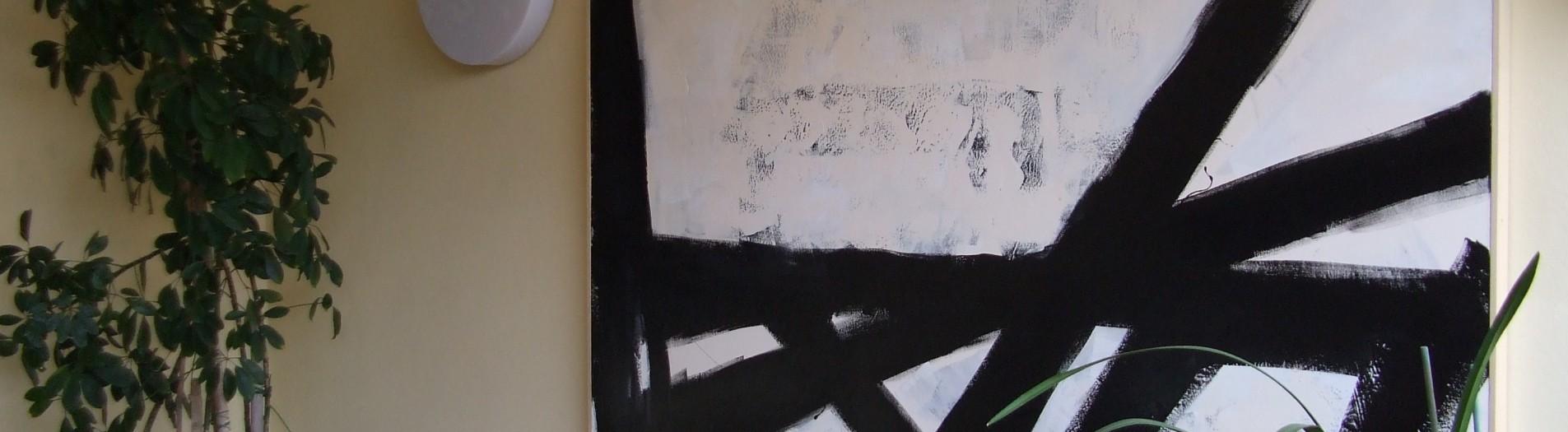 L'Ordine delle Cose, 140 x 180, smalto su tela, 2015