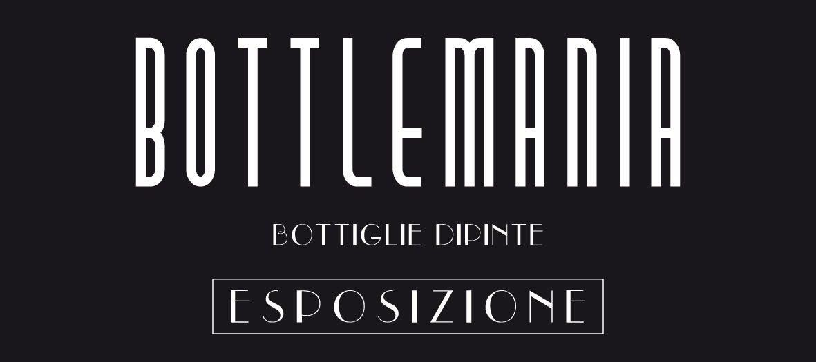 Bottlemania bottiglie d'autore, esposizione Centro Commerciale CONAD Vallescaia Cecina, fino al 7 gennaio
