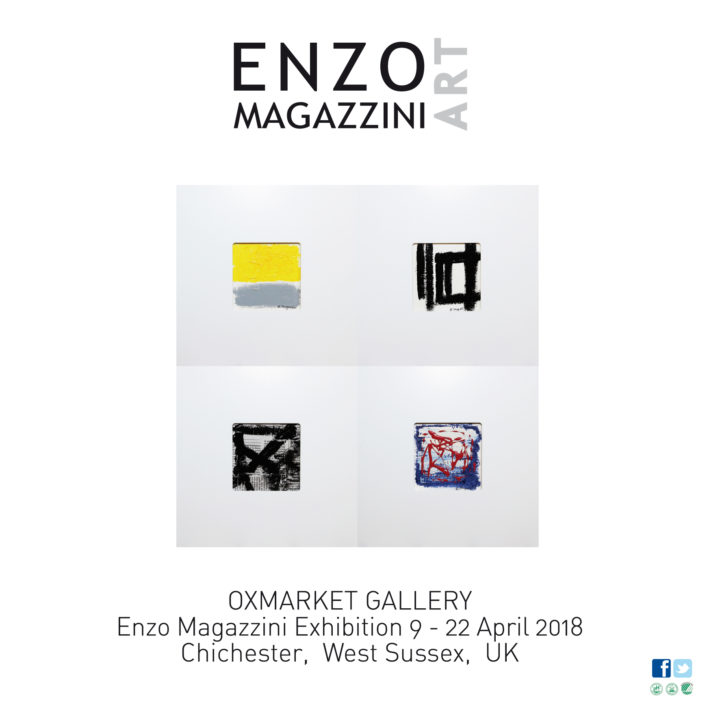 Enzo Magazzini Temporary Art Exhibition 9-22 April 2018, Chichester, West Sussex, UK
